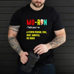 Joe Biden Moron A Stupid Person Fool Idiot Imbecile Vintage T shirt
