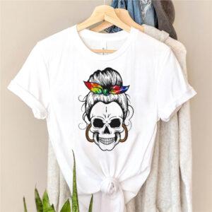 LGBT Skull Girl shirt