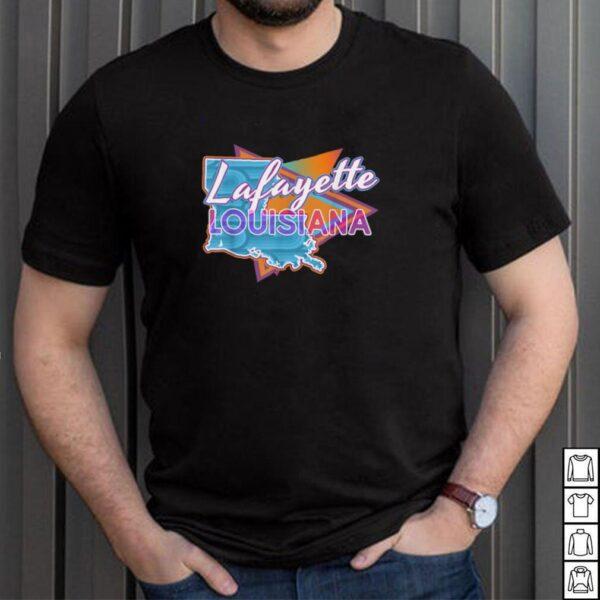 Lafayette Louisiana Vintage Retro Throwback shirt