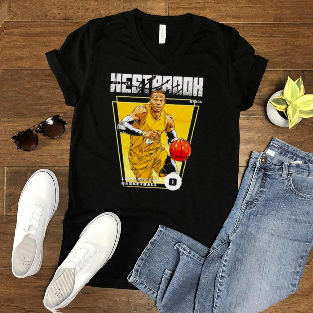 Los Angeles Basketball Russell Westbrook Premiere signature shirt