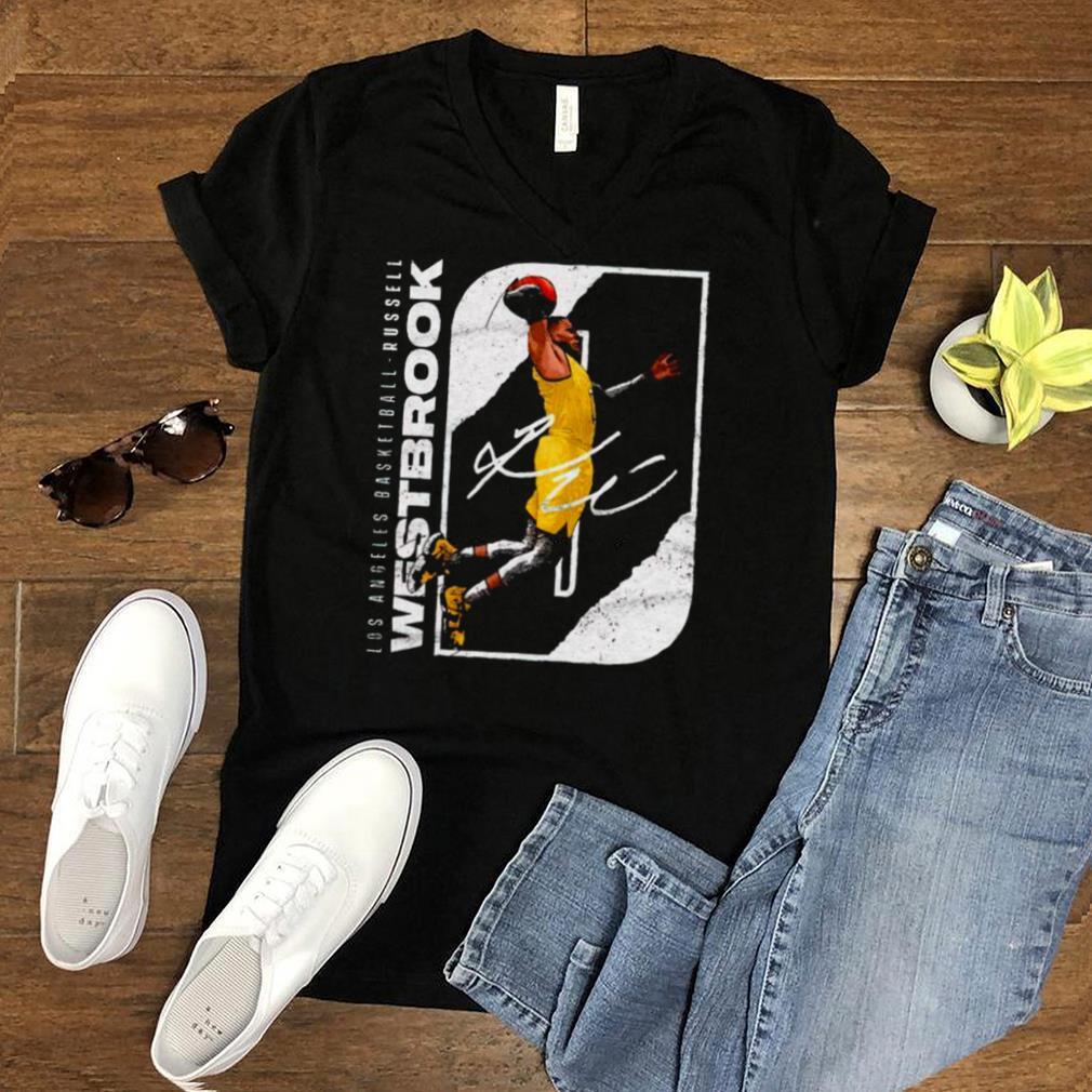 Los Angeles Basketball Russell Westbrook signature shirt