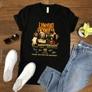 Lynyrd 57th anniversary 1964 2021 thank you for the memories signatures shirt