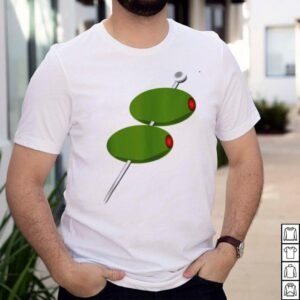 Martini Olives Bartender Student shirt