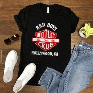 Motley Crue bad boys Hollywood shirt