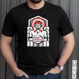 Native American Tribe Cleveland Ohio Baseball T shirt