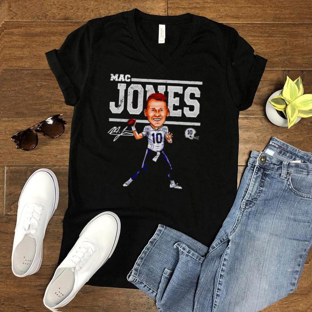 New England Football Mac Jones Cartoon shirt