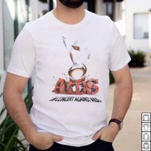 Official In Concert Against Aids Huey Lewis Grateful Dead Oakland Rock T shirt