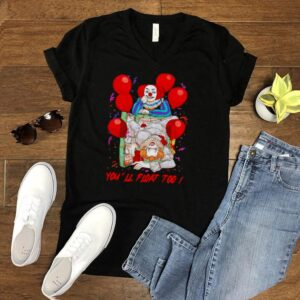 Pennywise youll find at top Halloween shirt