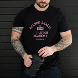 Relson Gracie Cleveland Jiu Jitsu Academy Cleveland T Shirt