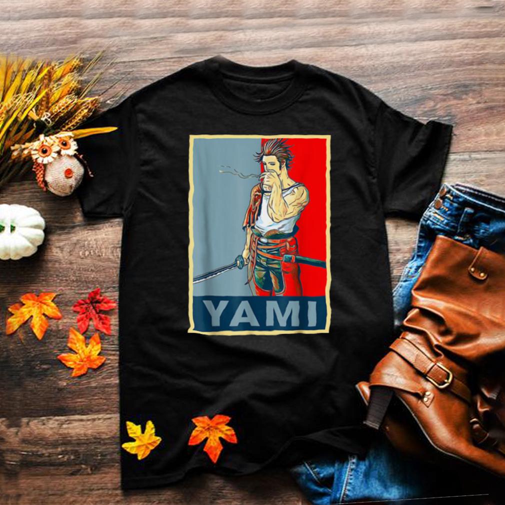 Retro Clover Anime Black Japanese Manga Yamis Costume Shirt
