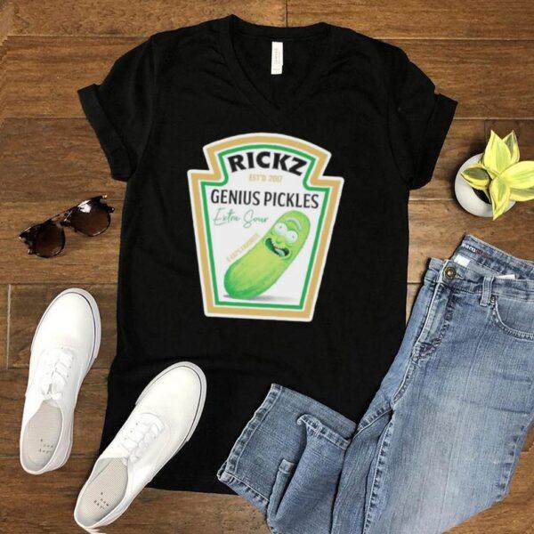 Rickz genius Pickle shirt