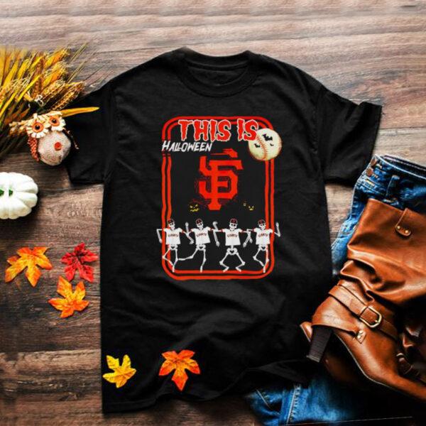 San Francisco Giants this is Halloween shirt