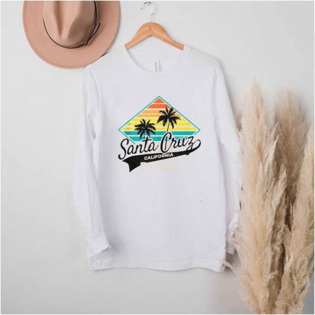 Santa Cruz Beach California Street Vintage T Shirt