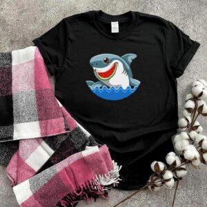 Shark Watermelon Summer Surfing Ocean Beach T shirt