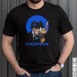 Skull hug Mopar logo shirt