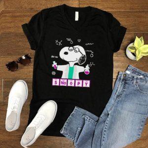 Snoopy chemistry lab shirt