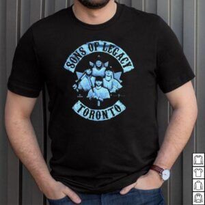 Sons Of Legacy Bo Bichette Vladimir Guerrero Jr Cavan Biggio Lourdesgurriel Jr Toronto Baseball T shirt