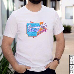 Springdale Arkansas Vintage Retro Throwback T shirt
