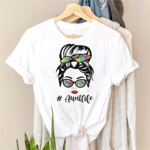 The Girl AuntLife Autism shirt