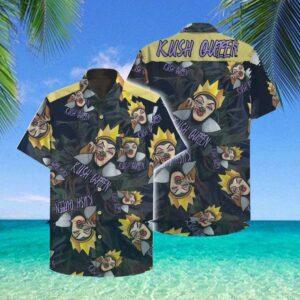The Kush Queen Hawaii Hawaiian Shirt Fashion Tourism For Men, Women Shirt