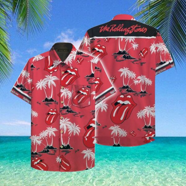 The Rolling Stones Hawaii Hawaiian Shirt Fashion Tourism For Men, Women Hawaiian Shirt