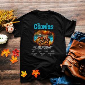 The goonies 36th anniversary 1985 2021 shirt