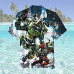 Titanfall Video Game Hawaiian Shirt