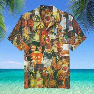 Trick or Treat Halloween Hawaiian Shirt