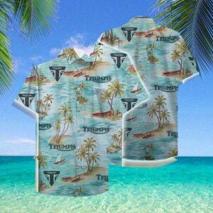 Triumph Hawaii Hawaiian Shirt Fashion Tourism For Men, Women Hawaiian Shirts