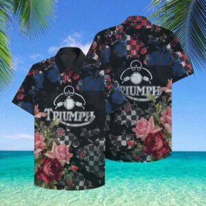 Triumph Hawaii Hawaiian Shirt Fashion Tourism For Men, Women Shirt