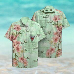 Triumph Hawaii Hawaiian Shirt Fashion Tourism For Men, Women Shirts