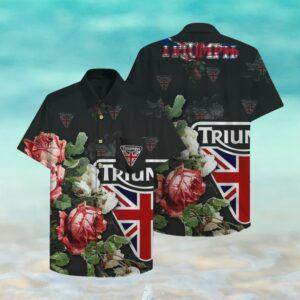 Triumph Hawaii Hawaiian Shirt