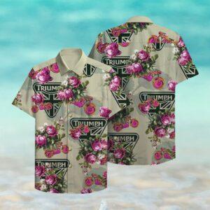 Triumph Hawaii Hawaiian Shirts
