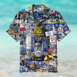 UConn Huskies Hawaiian Shirt
