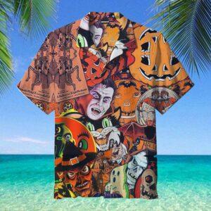 Vampire Halloween Hawaiian Shirt