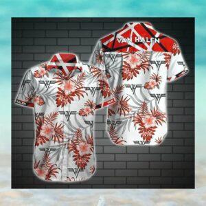 Van Halen Hawaii Hawaiian Shirt Fashion Tourism For Men, Women Shirt