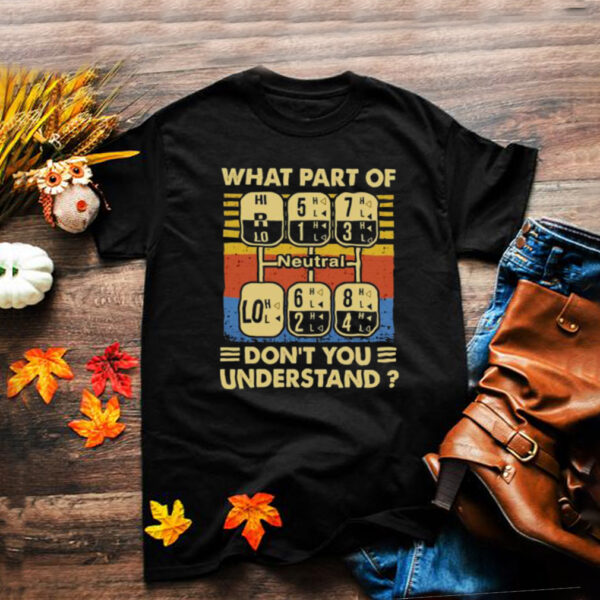 What part of dont you understand neutral vintage shirt