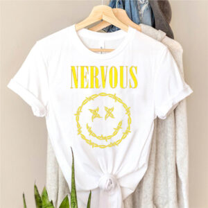 While she sleeps nervous smile shirt