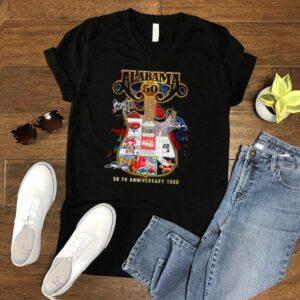 alabama 50 th anniversary tour shirt