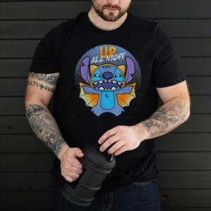 disney stitch halloween bat costume up all night 2021 shirt shirt