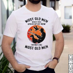 most old men would have given up by now im not like most old men blood moon shirt