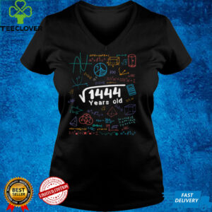 38 Year Old Men Women 38th Birthday Gift Square Root Of 1444 T Shirt