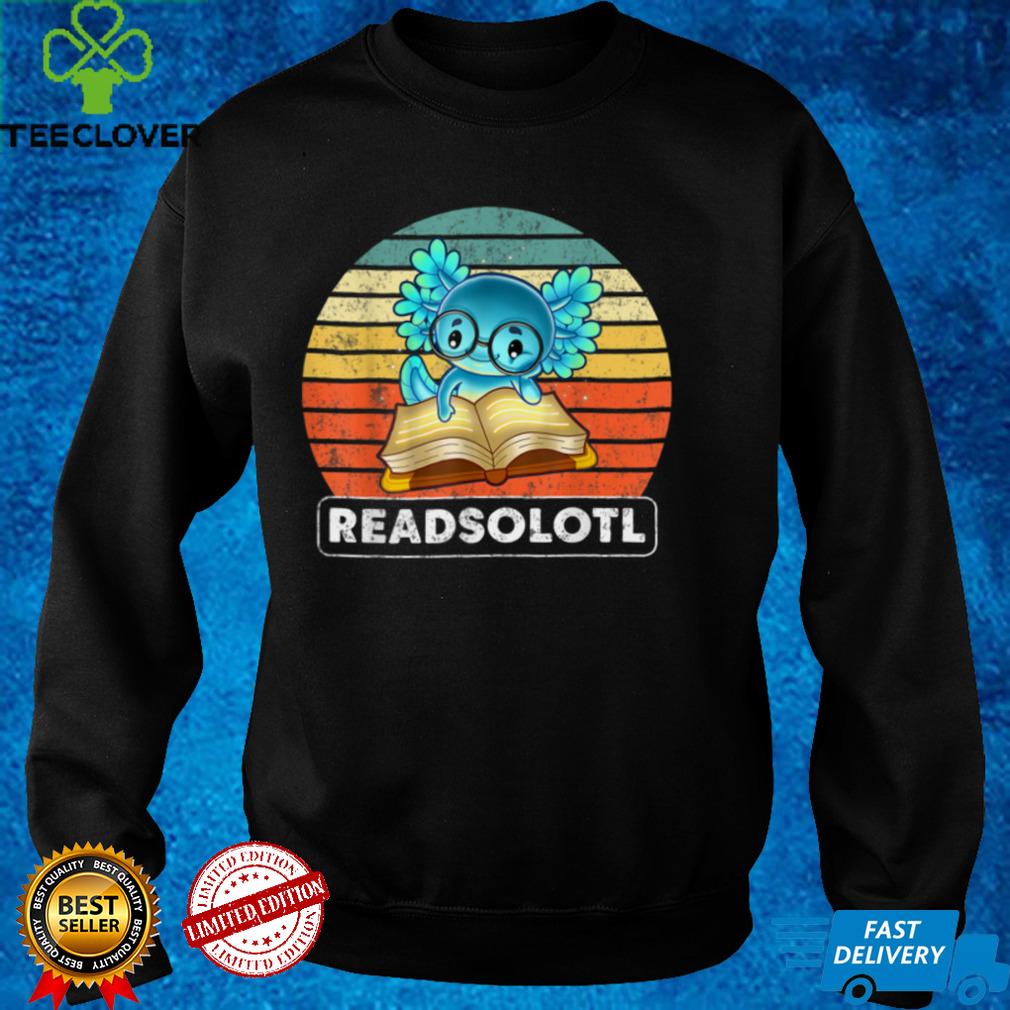 Axolotl Read Book Ambystoma Mexicanum Mexican Walking Fish T Shirt