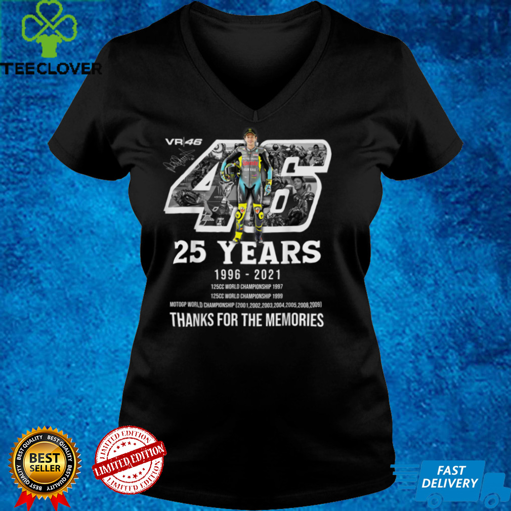 Be rossi 25th Anniversary Love Motorcycle For Men Women T Shirt