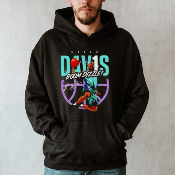 Charlotte Throwbacks Baron Davis Boom Dizzle shirt