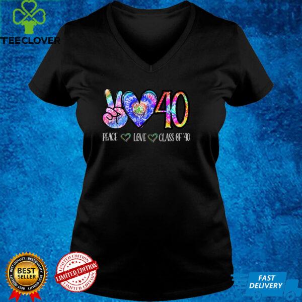 Class Of 2040 Shirt Tie Dye Senior Graduation Class Reunion T Shirt