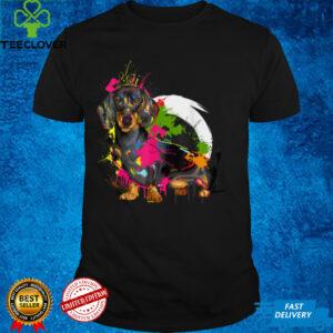 Cute Vibrant Dachshund gift for Men Women Kids T Shirt