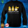Gnome Fights Pediatric Cancer Awareness Yellow Ribbon T Shirt