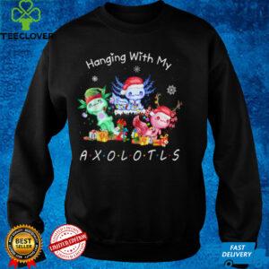 Hanging with my Axolotls Funny Christmas Pajamas Family Xmas T Shirt