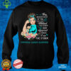 I Am The Storm Peritoneal Cancer Awareness T Shirt